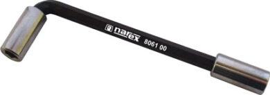 """NAREX 806100 Úhlový klíč oboustranný s mag. držáky nástavců 1/4""""(7706009)"""