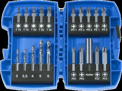 NAREX 00778000 Sada bitů 20dílná METAL COMBI(7791096)