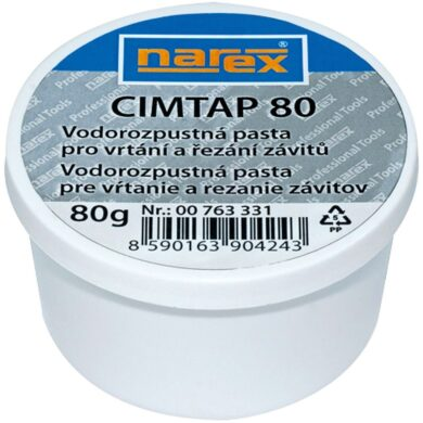 NAREX 00763331 Pasta řezná pro vrtáky CIMTAP 80g(7888061)