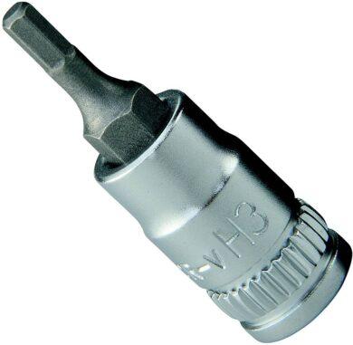 """NAREX 443001028 Hlavice 1/4"""" zástrčná inbus (imbus) 6mm(7892540)"""