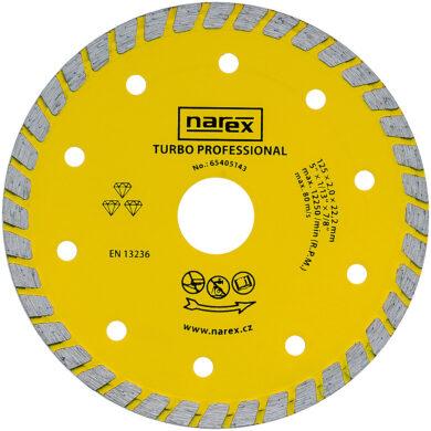 NAREX 65405143 Kotouč řezný diamantový 125mm TURBO PROFESSIONAL(7913285)