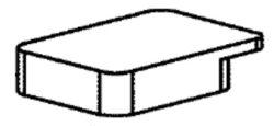 NAREX 66620258 Víčko kartáče MR 058.10 EBU 15-16