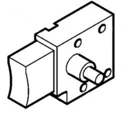 NAREX 614839S Spínač 3575-02 s aretací (EV513)-Spínač pro: EV513; EV513D