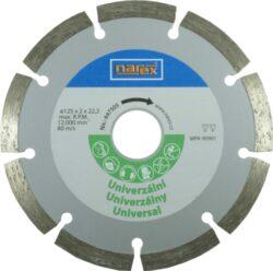 NAREX 00647505 Kotouč diamantový 125 universal-Diamantový řezný kotouč 125mm - universal, Narex