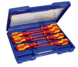 Sada šroubováků PL/PZ 1000V S-LINE NAREX 862352-Sada šroubováků 7-dílná, plochý + POZIDRIV, do 1000V, S-LINE, NAREX