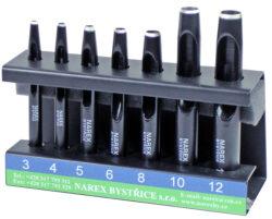 NAREX 854800 Sada výsečníků 7dílná-Sada výsečníků tyčových