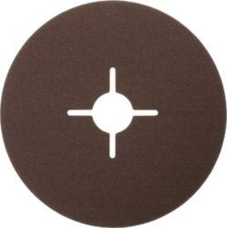 NAREX 65403812 Fíbrový brus 150mm P120 /00614397/-Fíbrový brusný kotouč 150mm na kov a dřevo, Narex