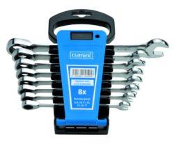 NAREX 443100594 Sada klíčů 8dílná ráčnových plast. držák DIN3113-Sada klíčů 8dílná ráčnových plast. držák DIN3113