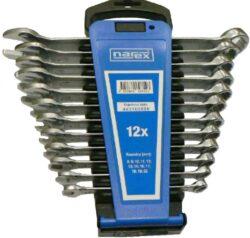 NAREX 443100586 Sada klíčů 12dílná očkoplochých plast. držák-Sada klíčů 12dílná očkoplochých plast. držák