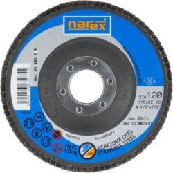 NAREX 65403789 Kotouč lamelový 115mm P120