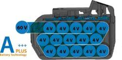 NAREX 65405316 Akušroubovák příklepový 60V 1x3,0Ah ASP 610-2B TL BRUSHLESS(7914270)