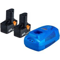 NAREX 65405495 Set akumulátorů 20V 2x2,0Ah s nabíječkou SET AP 204-Set akumulátorů 20V 2x2,0Ah s nabíječkou