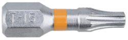 NAREX 65404461 Bit T15x25mm TORX Orange (2ks) SUPERLOCK