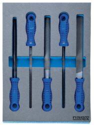 NAREX 443001402 Modul pilníků dílenských 5dílný-Modul pilníků dílenských 5dílný